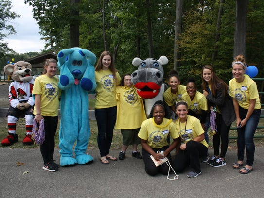 The 2016 Buddy Walk kicked off in Highland Park on