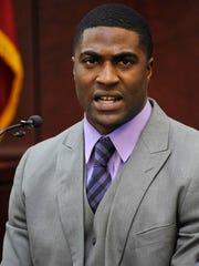 Cory Batey testifies during the Vanderbilt rape trial