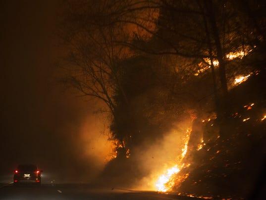 Gatlinburg fire
