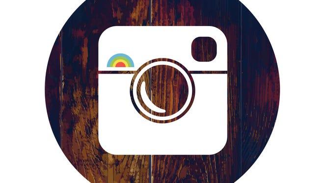 Instagram logo, hipster style.