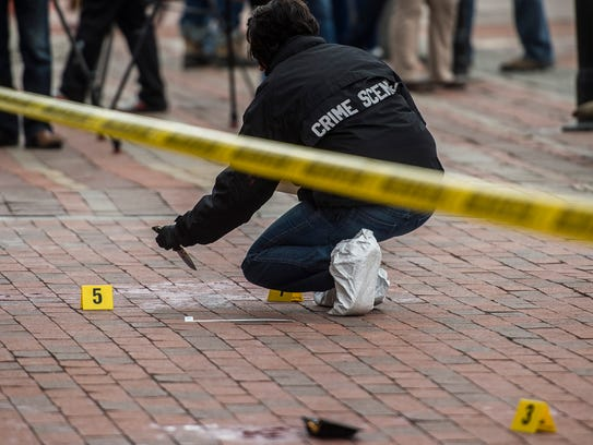 Burlington police recover a knife from the scene of