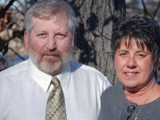 Teri Lindzy, seen here with her husband Randy, is on