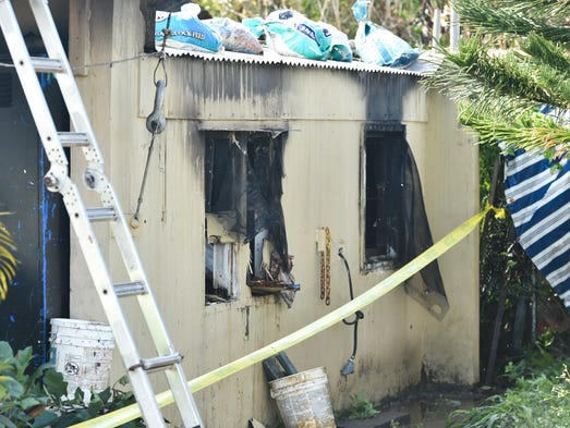Gpd launches investigation into dededo house fire for Semi concrete house