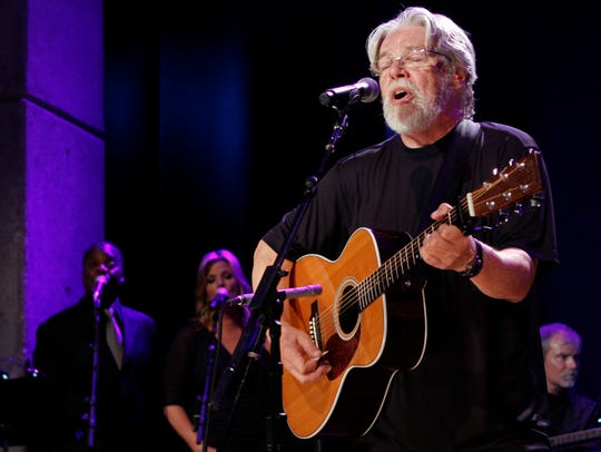 Bob Seger performs at the Country Music Hall of Fame