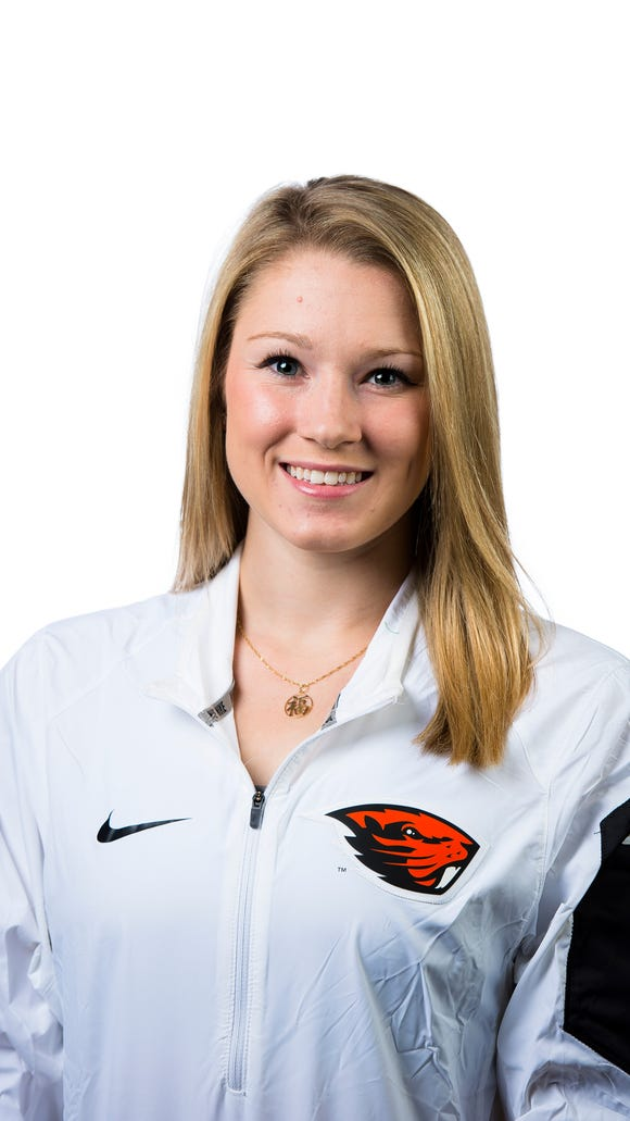 Oregon State's Madeline Gardiner is the Pac-12 gymnast of the week