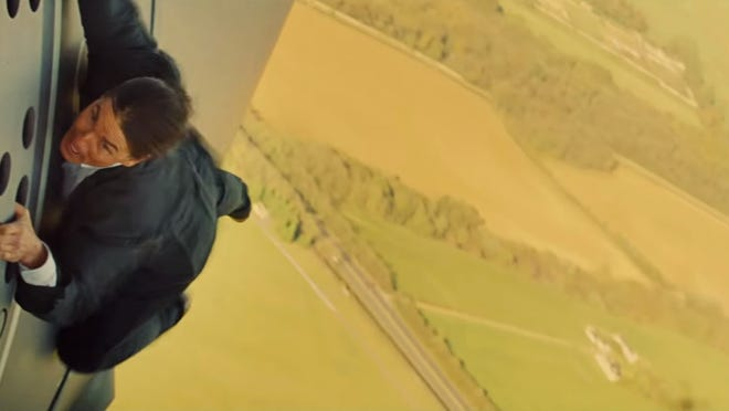 Watch Raw Footage Of Nervous Tom Cruise Doing That Insane Mission Plane Stunt And Swearing About It