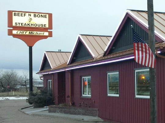 Beef N Bone is located at 19 Ulm South Frontage Road.