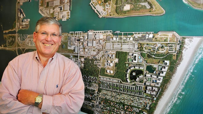 John Walsh served nearly three years at Port Canaveral chief executive officer before leaving on Thursday.