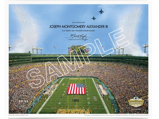 Packers' shareholders document