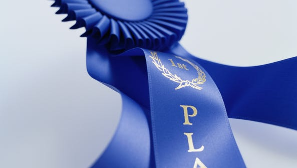 First-place ribbon