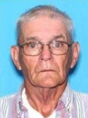 """Robert Harrison, an 80-year-old man from West Melbourne, has been missing since Sunday. He was last seen in West Melbourne wearing blue jeans and a white t-shirt with a green and white """"Western"""" style shirt on over it. He a is 5'11"""" tall white male who weighs 145 pounds, with gray hair and hazel eyes."""