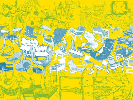 """Sergio Rodrigues' illustrated history of Brazilian chair designs made for R & Company is featured in the book """"Brazil Modern: The Rediscovery of Twentieth-Century Brazilian Furniture."""""""