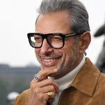 Watch: Jeff Goldblum lampooned for that infamous 'Jurassic Park' shirtless scene
