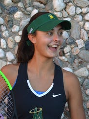 Bishop Manogue's Tara Chilton is a sophomore