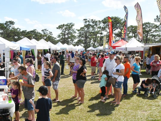 The 2019 Strawberry Fest in Melbourne was held February 23 & 24 at Wickham Park. The event included Plant City strawberries, food vendors, a wide variety of games, various animals, contests, and more. Thousands attended both days.
