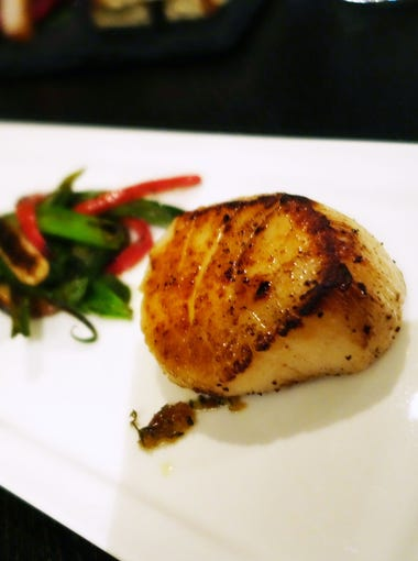 The Breadfruit & Rum Bar will use rum in its dishes including these Appleton rum scallops.
