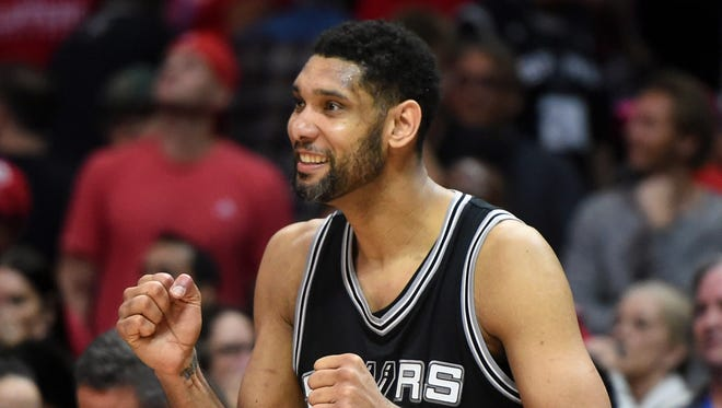 Tim Duncan's fourth-quarter defense on Clippers star Blake Griffin was crucial to the Spurs' Game 5 win.