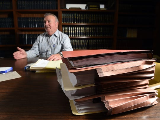 Ron Kincade talks about his years as prosecuting attorney.