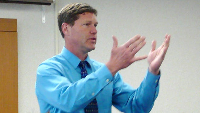 Ron Kind speaks at Memorial Medical Center in Neillsville in 2011.