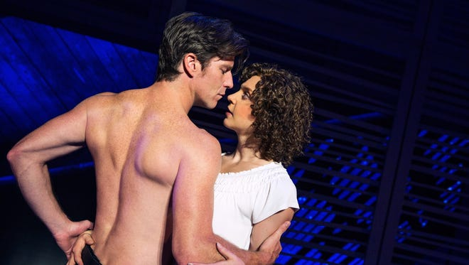 "Christopher Tierney plays Johnny and Gillian Abbott plays Baby in the national tour of ""Dirty Dancing"" that  plays Sept. 15-20 in Des Moines."