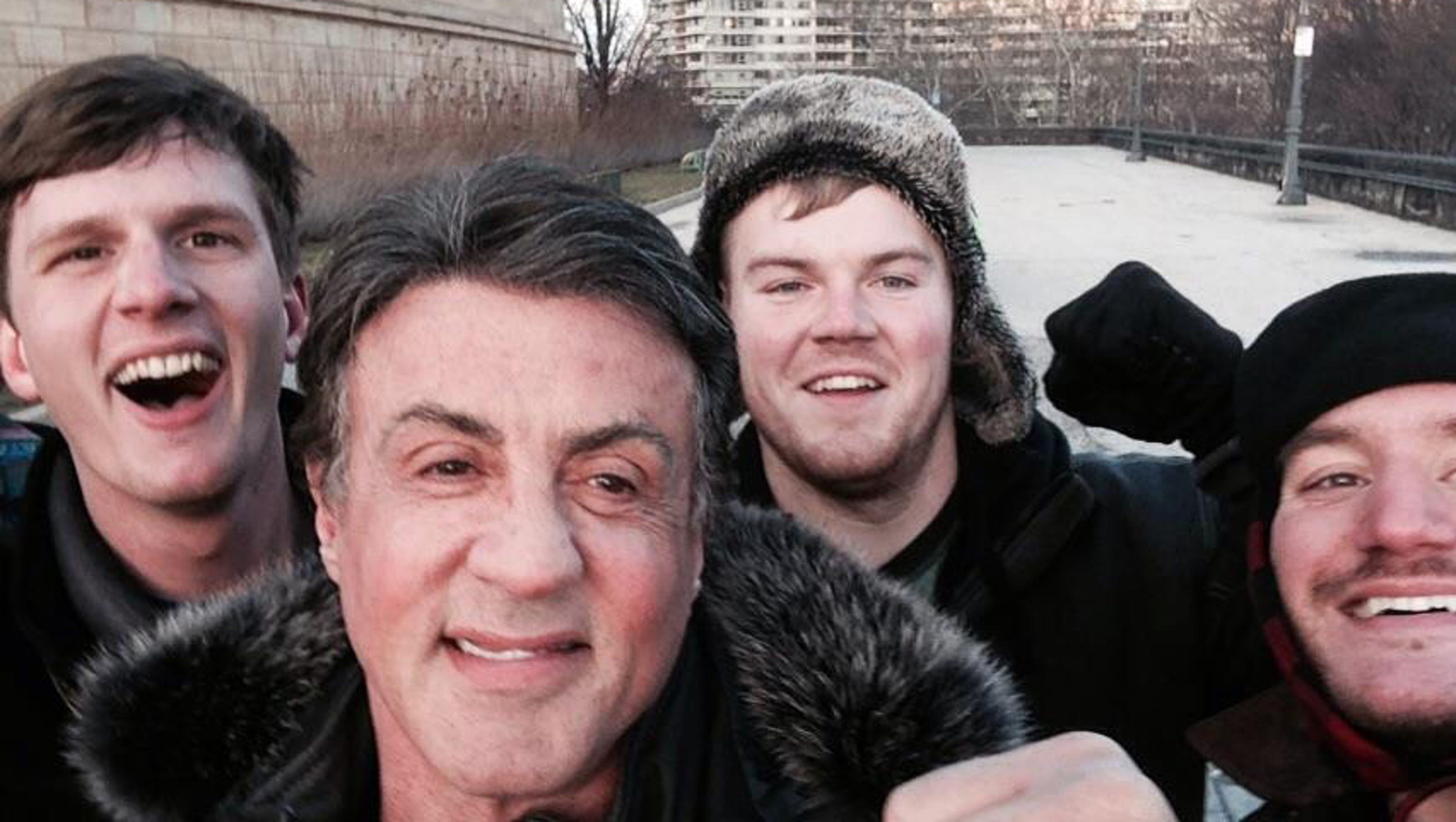 Odd news: Tourists meet Stallone atop 'Rocky' steps - Appleton Post Crescent