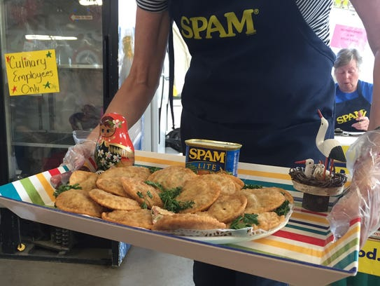 Spam pirogies were one of 18 entries in the Great American