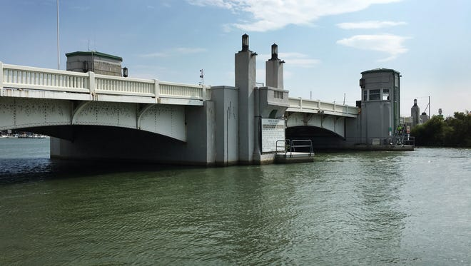 The Port Clinton lift bridge on Ohio 163 will be closed for repair from Oct. 14 through May 25, 2018.