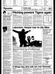 This Week In BC Sports History - April 23, 1985