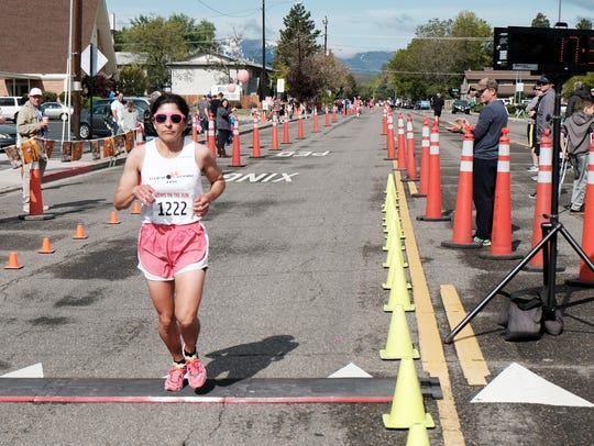 Ramona Sanchez places first at Pinocchio's Moms on
