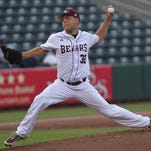 Matt Hall did not allow an earned run and struck out 13 in Missouri State's baseball victory on Saturday over UT-Martin.