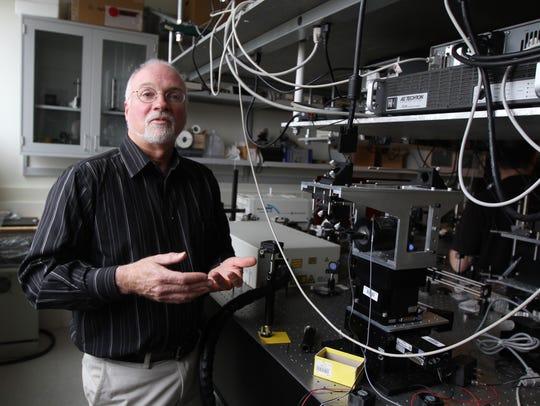 Professor Wayne Knox of the University of Rochester