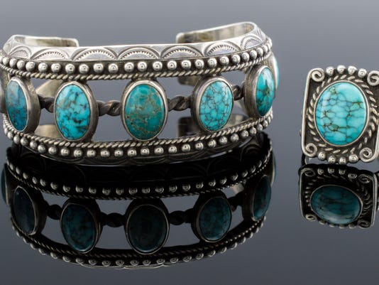 Fred Peshlakai Native American Bracelet