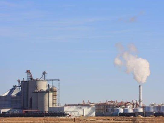 An ethanol plant in western Iowa.