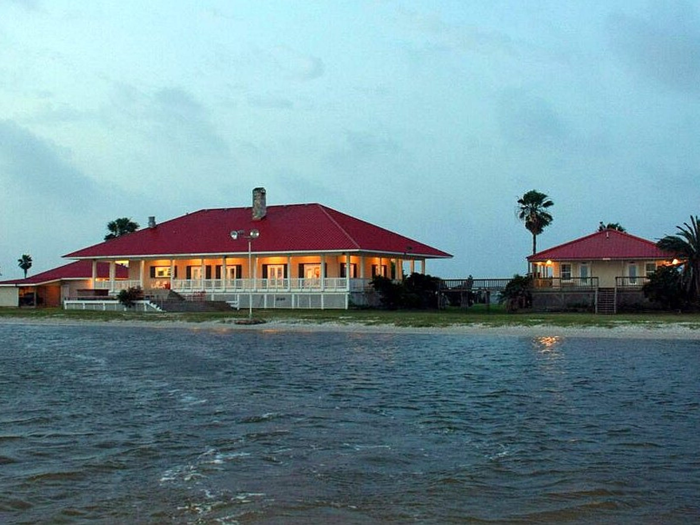 The Redfish lodge before Hurricane Harvey.