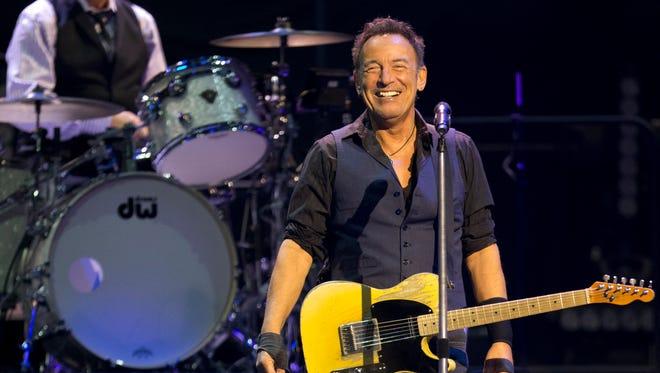Bruce Springsteen: Marathon man.