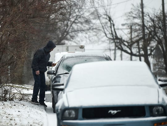 Marion County is expected to get a mixture of rain and snowWednesday morning.