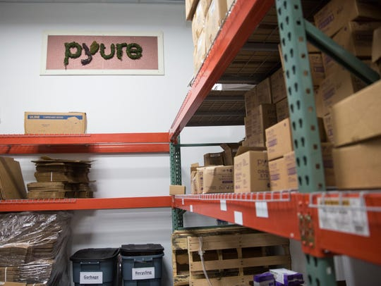 Pyure Brands, a company that makes Stevia, an organic