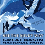 Great Basin National Park poster.