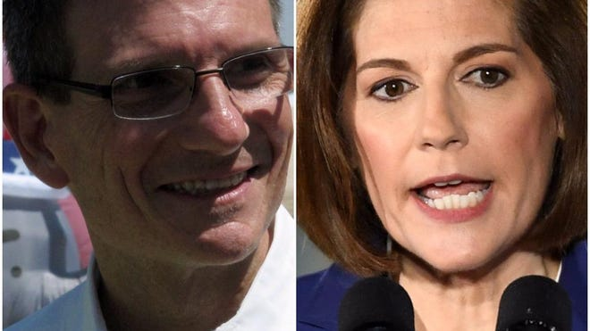Joe Heck and Catherine Cortez Masto are running to fill Harry Reid's seat for Nevada in the U.S. Senate.