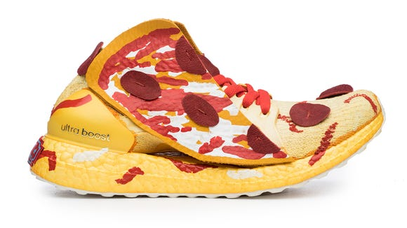 Pizza shoes! Artists use food, iconic places to represent all 50 states in shoes