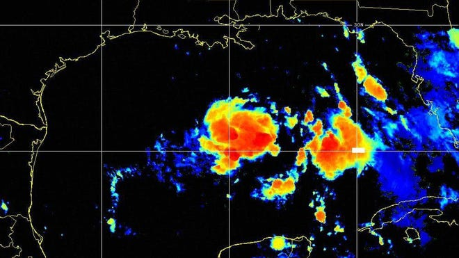 Tropical Depression Eight 6 a.m. July 23, 2020