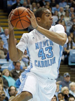 James Michael McAdoo scored a game-high 14 points for North Carolina.