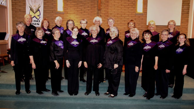 The Hi Lo Silvers will perform their Holiday Concert on Friday, Dec. 11, and at 3 p.m. on Sunday, Dec. 13, in the First Presbyterian Church in Silver City.
