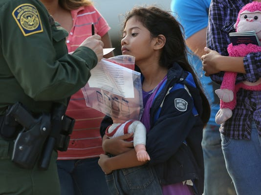 Border Patrol minors