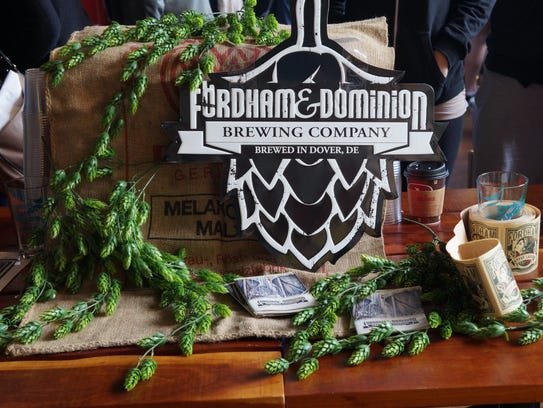 Fordham and Old Dominion Breweries of Dover showcasing