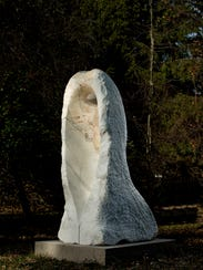 Ayami Aoyama's 'Madonna' is a 2008 marble sculpture.
