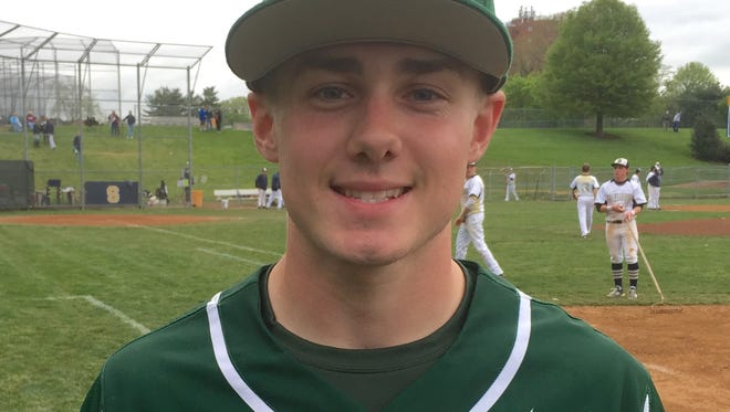 Right fielder Jeremy Vogel went 2-for-4, scored twice and delivered the go-ahead hit in the eighth inning as St. Mark's rallied past Salesianum 7-5 on Thursday.