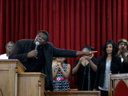 Pastor Kurt Dawson of Greater Life Church of Christ