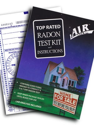 Radon home test kits such as one by AirChek cost as little as $10 to $20.