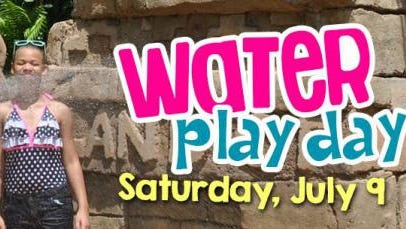 Water Play Day will feature watery fun at the Alexandria Zoo from 9 a.m. to 3 p.m. Saturday.